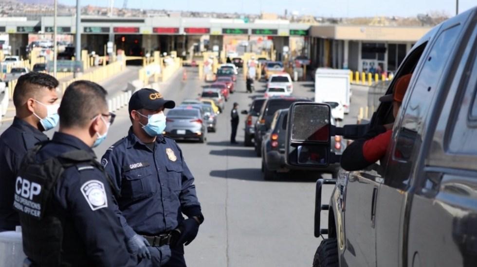 EE.UU. mantiene cierre de frontera con México por expansión de variante Delta - Casa Blanca niega crisis migratoria en la frontera. Foto de CBP