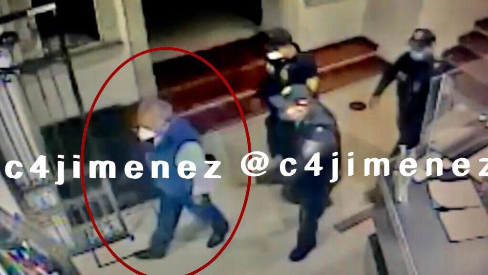 #Video Graban momento en que diputado Saul Huerta se niega a ser detenido - detención Saúl Huerta diputado