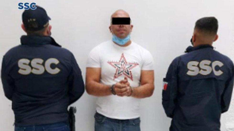 Detienen a implicado en asesinato de empresario francés y su socio - detenido asesinato empresario frances socio CDMX