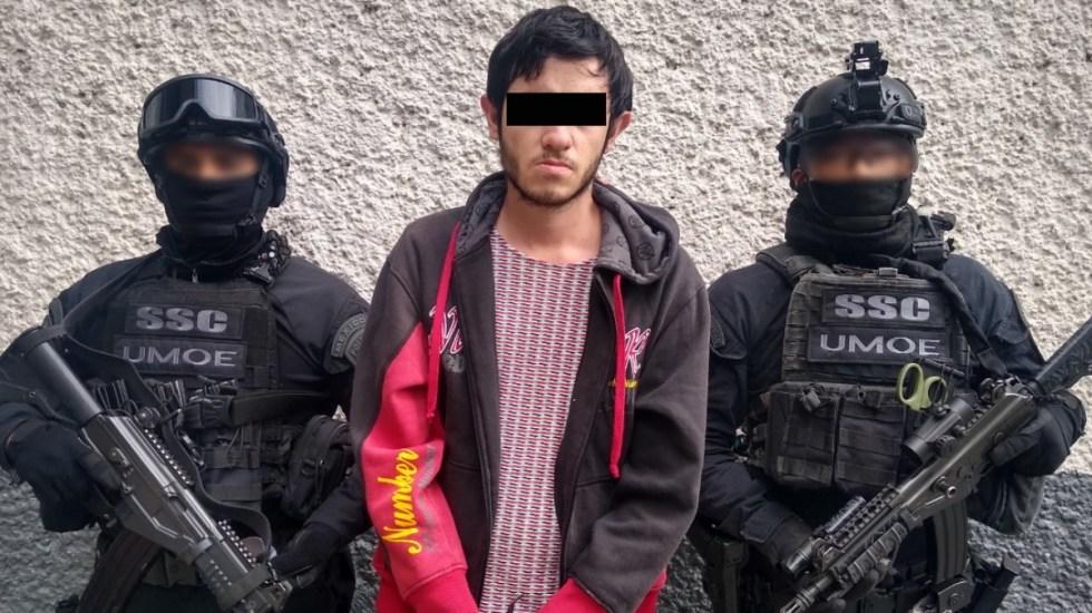 Primer detenido por Ley Olimpia; exigía dinero a cambio de eliminar fotos íntimas - Foto de SSC Ciudad de México