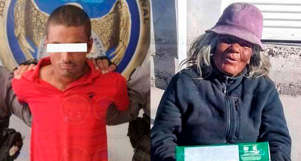 Detienen a sujeto que prendió fuego a adulta mayor en Celaya - Detienen a Rafael V. por prender fuego a Esther en Celaya. Foto de FGE Guanajuato / @alexramblasr