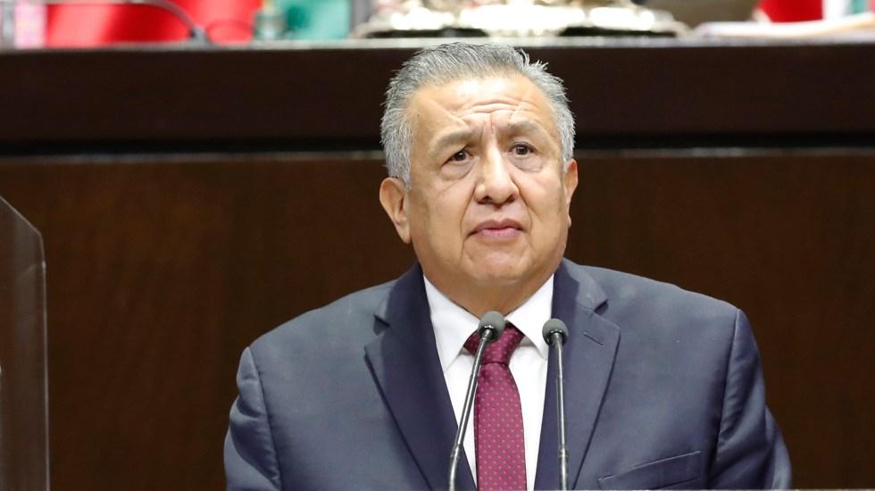 Emiten alerta migratoria contra diputado Saúl Huerta, acusado de abuso sexual - Diputado Benjamín Saúl Huerta Corona. Foto de Cámara de Diputados
