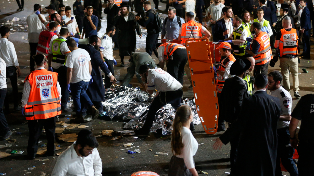 Biden expresa condolencias a Netanyahu por trágica estampida en Israel - Estampida Israel Monte Merón
