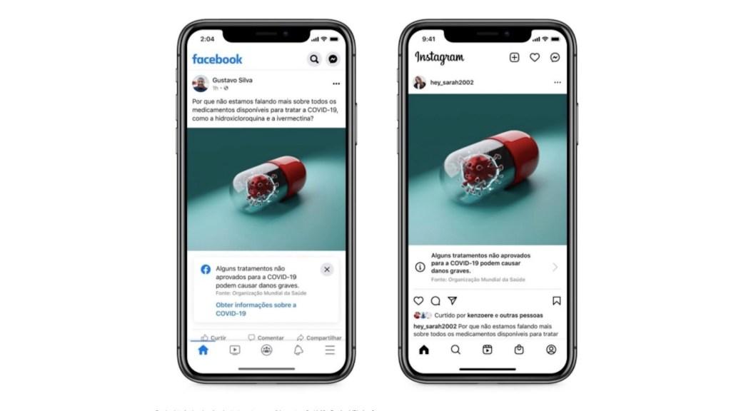 Van Facebook e Instagram contra información sin rigor científico sobre COVID-19 - Facebook e Instagram. Foto de Facebook