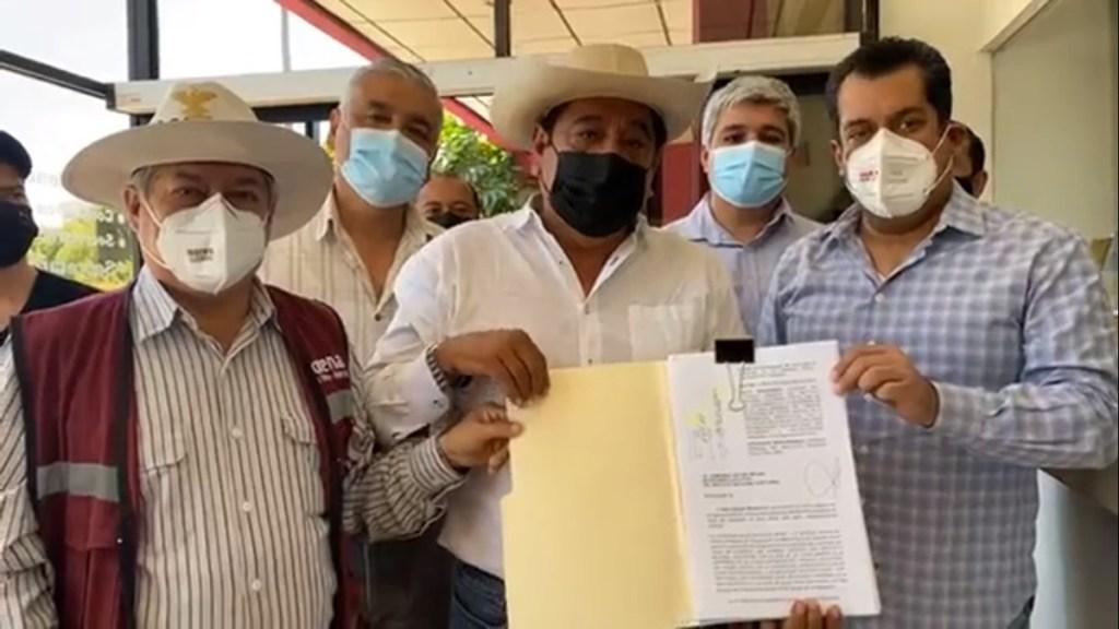 Félix Salgado entrega a INE impugnación de retiro de su candidatura - Félix Salgado entrega a INE impugnación contra retiro de su candidatura. Captura de pantalla