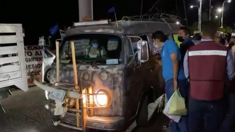 #Video Félix Salgado Macedonio inicia caravana desde Acapulco hacia Ciudad de México - Félix Salgado Macedonio inicia caravana. Foto tomada de video