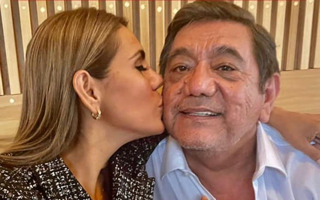 "Asegura Félix Salgado Macedonio que su hija no será una ""Juanita"" - Félix Salgado Macedonio con su hija Evelyn. Foto de @FelixSalgadoMX"