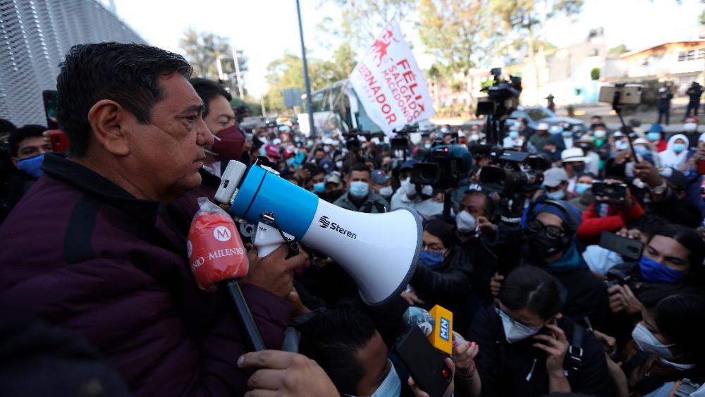 Tribunal Electoral admite impugnación de Félix Salgado Macedonio - Felix Salgado Macedonio protesta TEPJF Tribunal Electoral