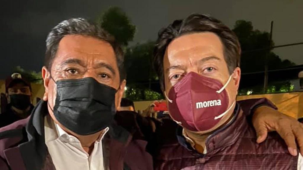 Félix Salgado y Mario Delgado marcharán hacia el Tribunal Electoral para exigir justicia - Félix Salgado Macedonio y Mario Delgado. Foto de @FelixSalgadoMX