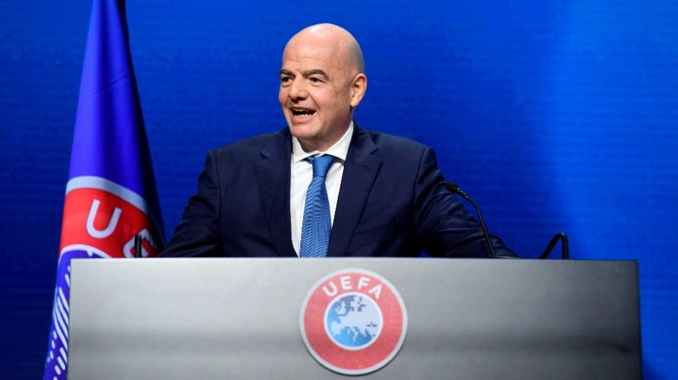 Infantino reafirma el rechazo de la FIFA a la Superliga - Gianni Infantino