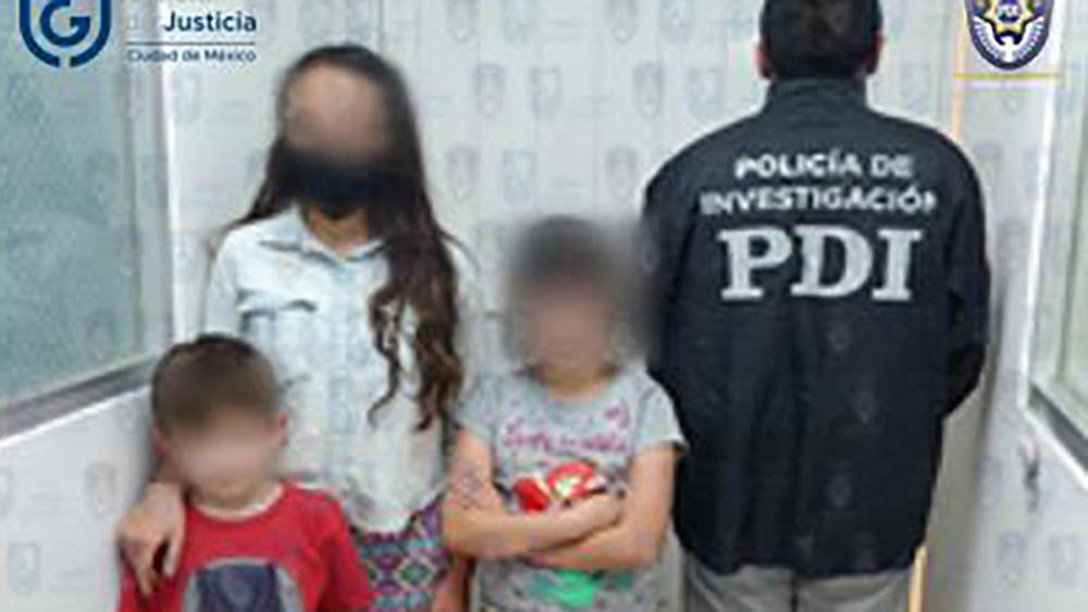 Rescatan en la alcaldía Cuauhtémoc a tres niños víctimas de maltrato infantil - Niños rescatados por maltrato infantil en la CDMX. Foto de @FiscaliaCDMX