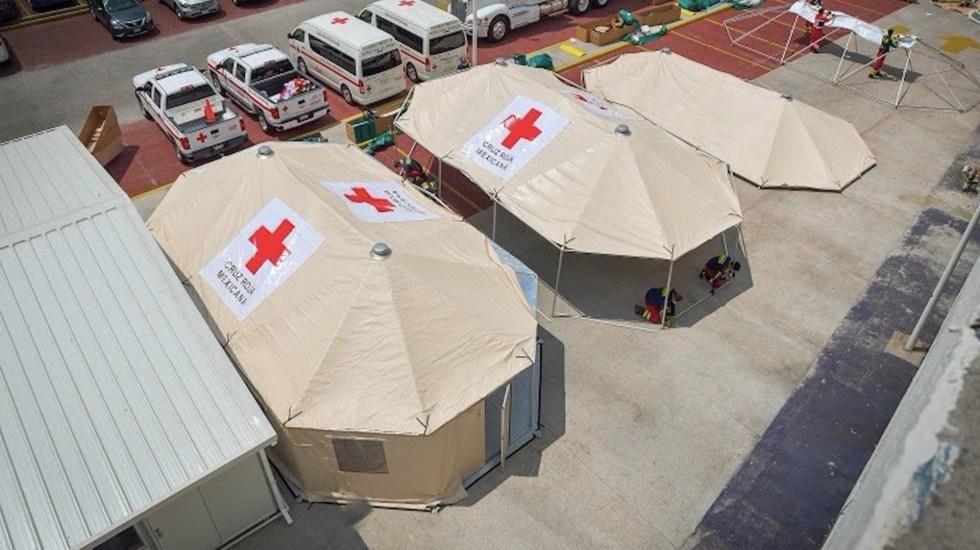 Aumentar la capacidad de atención médica y hospitalaria: tres historias de éxito en tiempos de COVID-19 - Atención a pacientes de COVID-19. Foto de INEr Cruz Roja