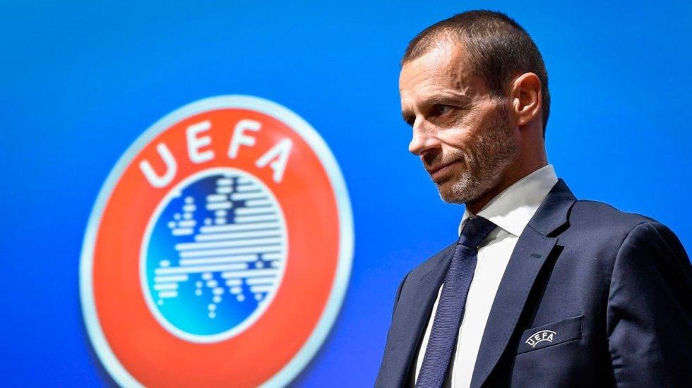 UEFA abre procedimientos disciplinarios a Real Madrid, Barcelona y Juventus - UEFA Ceferin