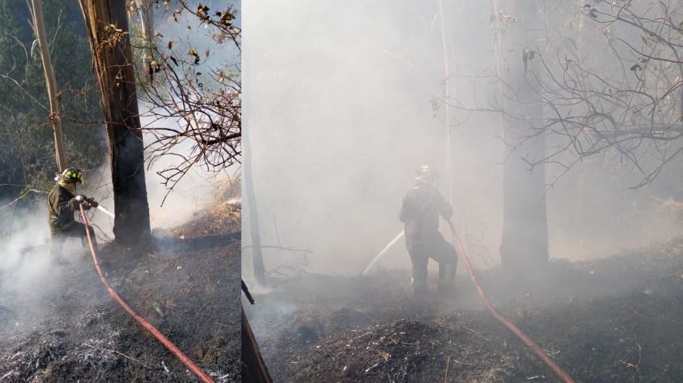 Bomberos controlan incendio en bosque de Chapultepec - Incendio Chapultepec Ciudad de México