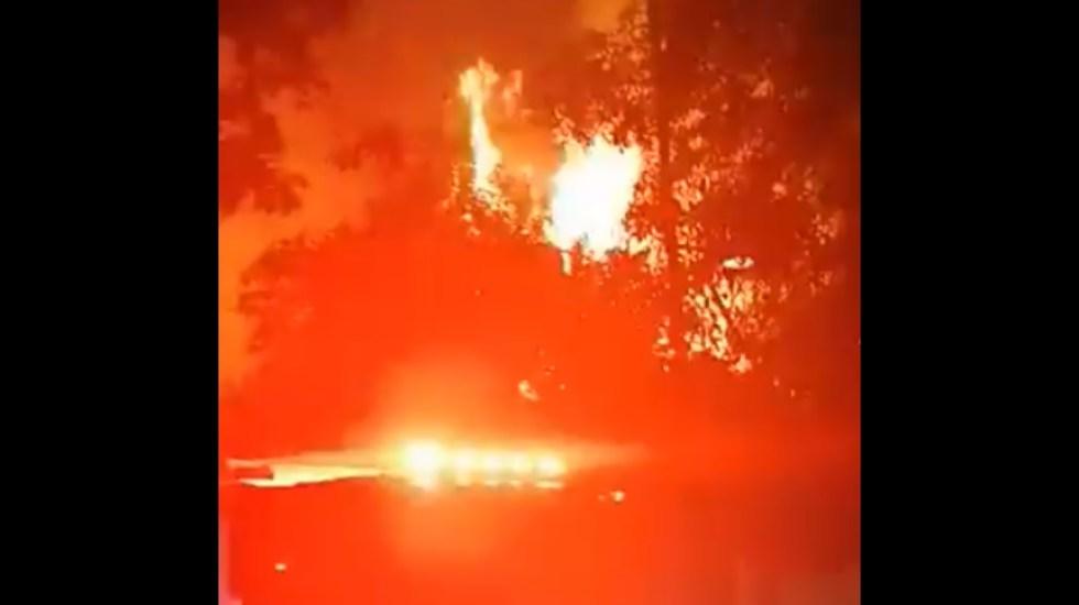 Se incendia casa abandonada en la colonia Del Valle - Incendio colonia del Valle Ciudad de México