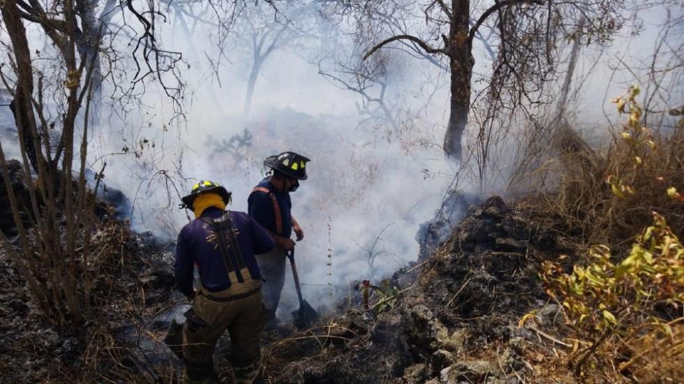 Incendio en Fuentes del Pedregal controlado al 100 por ciento, asegura Protección Civil - incendio Fuentes del Pedregal CDMX Bomberos