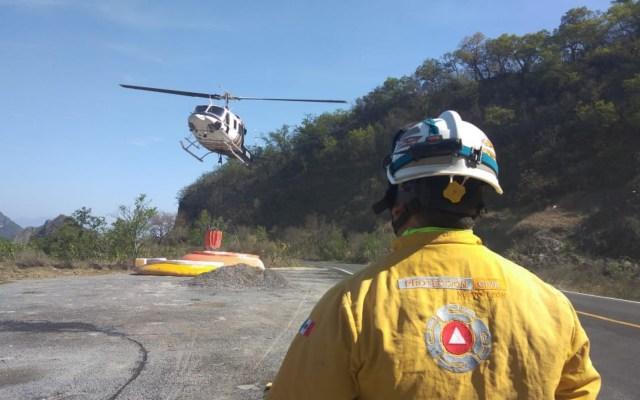 Hay cinco incendios forestales activos en Nuevo León - Incendio Nuevo León