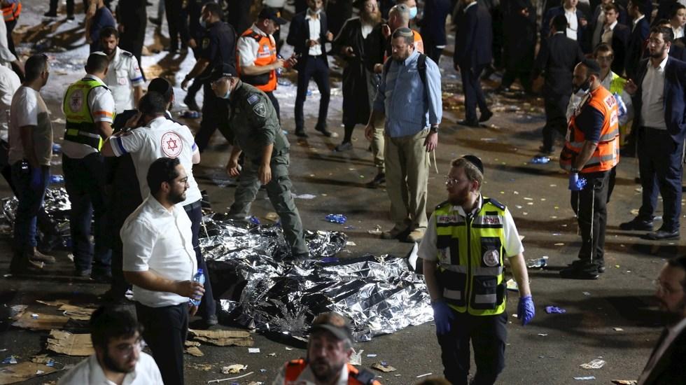 Estampida humana en Israel durante festividad religiosa deja al menos 38 muertos - Israel estampida humana mundo