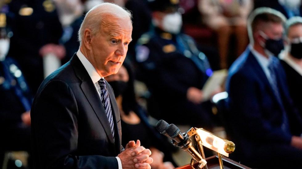 """Biden reclama a Putin """"rebajar tensión"""" tras escalada militar ante Ucrania - Joe Biden"""