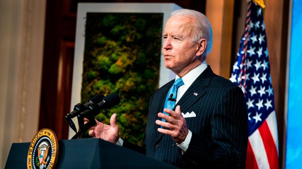 Biden celebrará sus primeros 100 días en el poder con mitin en Georgia - Joe Biden, presidente de EE.UU. Foto de EFE