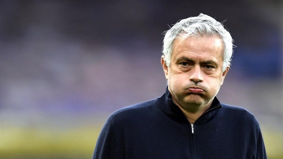 Tottenham despide a Mourinho; recibiría 15 millones de libras como finiquito - José Mourinho