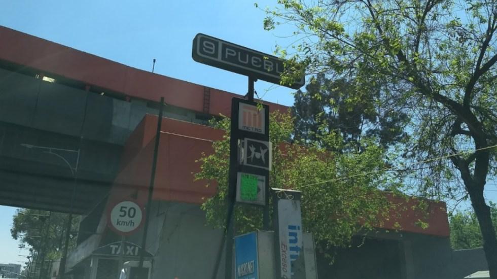 Línea 9 del Metro funciona completamente tras labores de rehabilitación - Línea 9 Metro Puebla estación STC