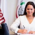 """#Video Senadora María Merced González 'balconea' que """"al presidente"""" le interesan Jalisco y Nuevo León; asegura que hablaba de Mario Delgado"""