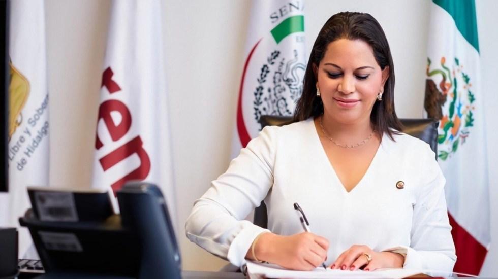 """#Video Senadora María Merced González 'balconea' que """"al presidente"""" le interesan Jalisco y Nuevo León; asegura que hablaba de Mario Delgado - Senadora María Merced González"""