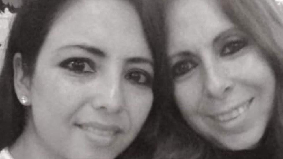 Murió por COVID-19 Mariana Navarro, integrante de Microchips - Mariana Navarro con Flor Trujillo. Foto de Gloria Mayo