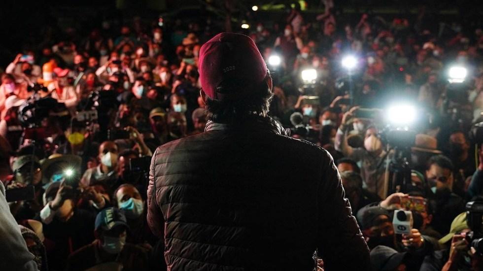"""Mario Delgado acusa """"farsa"""" del INE por ratificar retiro de la candidatura a Salgado Macedonio - Mario Delgado"""