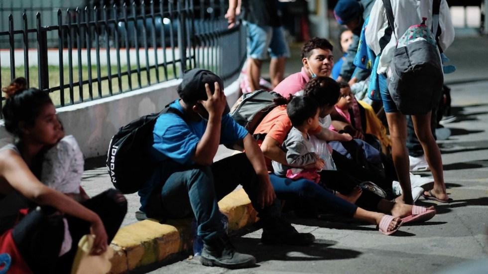 México deporta a Honduras a medio centenar de menores no acompañados y 86 adultos migrantes - Más de mil menores hondureños han sido deportados de México, Estados Unidos y Guatemala. Foto de EFE