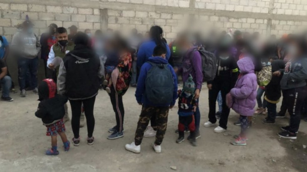 Rescatan a 136 migrantes centroamericanos en San Pablo del Monte, Tlaxcala - Migrantes Tlaxcala centroamericanos