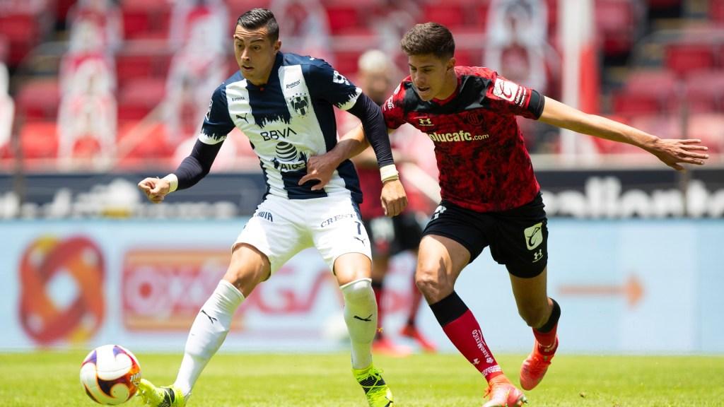 Rayados de Monterrey derrotan a Toluca e hilan segunda victoria consecutiva - Partido entre Rayados de Monterrey y los Diablos del Toluca. Foto de EFE