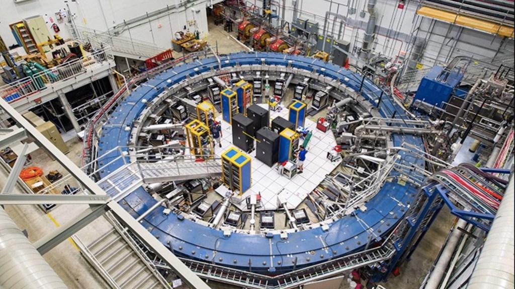 Nuevo experimento pone a prueba las leyes de la Física - El experimento g - 2 en Fermilab. Foto de Fermilab
