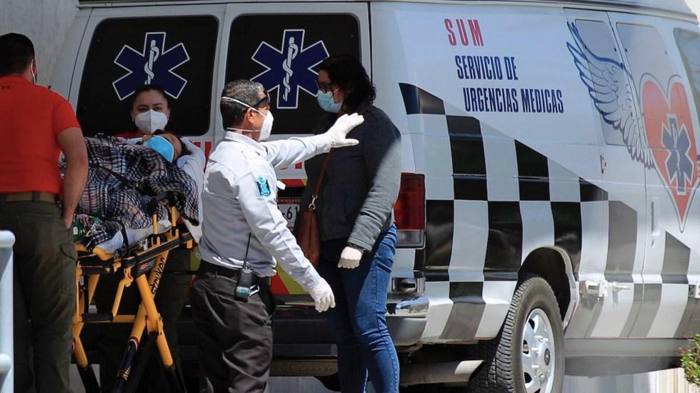 México registró en las últimas 24 horas 529 muertes y 3 mil 990 casos de COVID-19
