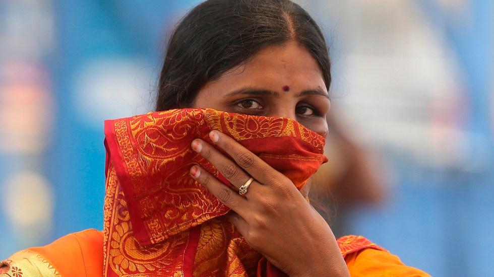 India registra récord de más de 100 mil nuevos casos de COVID-19 - Pandemia de COVID-19 en India. Foto de EFE
