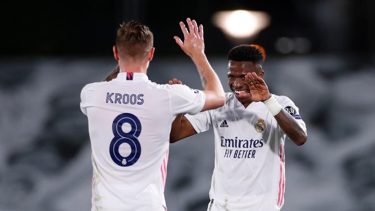 Real Madrid aventaja al Liverpool en la ida de cuartos de ...