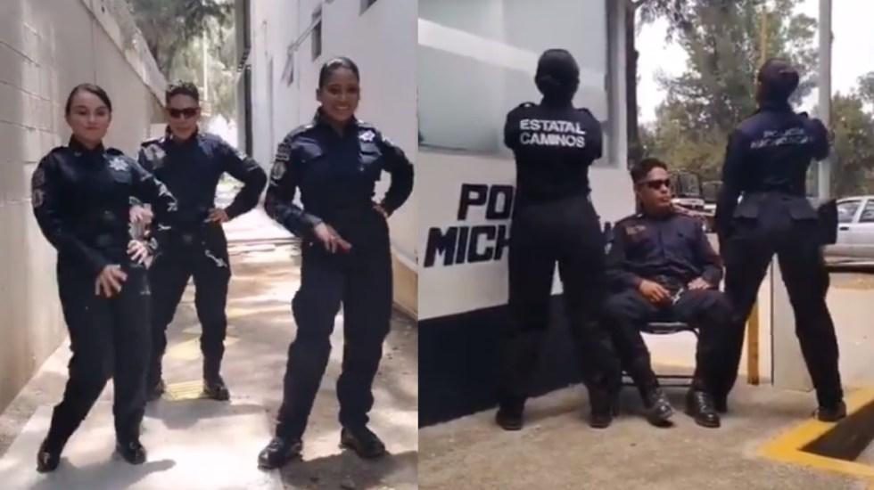 Policía estatal de Michoacán abre investigación tras videos compartidos en TikTok por presuntos agentes - Policías Michoacán TikTok