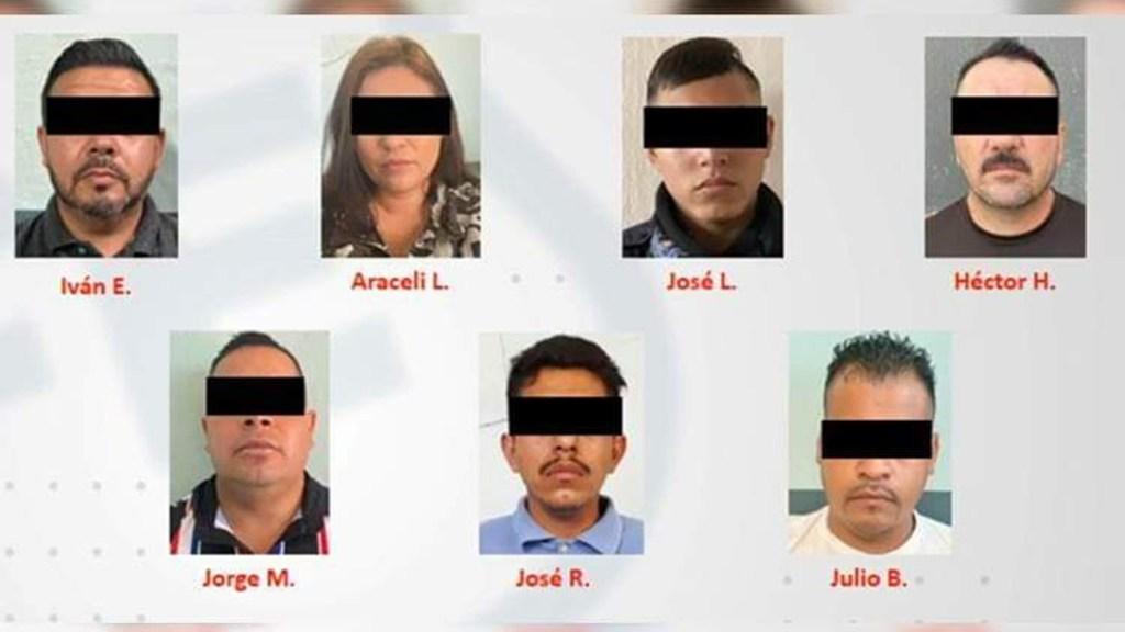 Vinculan a proceso a siete policías de Jalisco por desaparición de familia - Policías presuntamente implicados en desaparición de familia en Jalisco. Foto de Fiscalía Jalisco