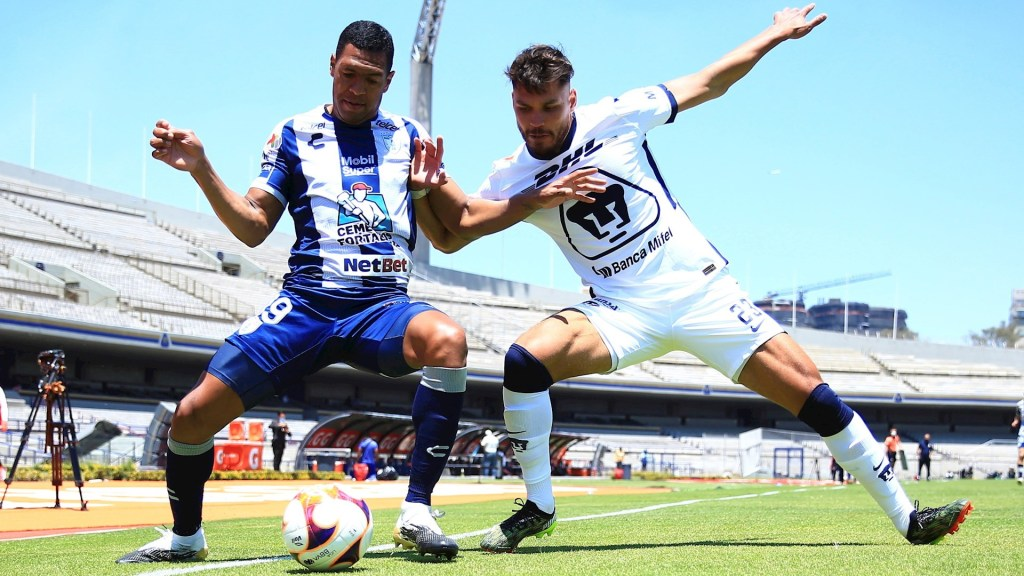 Dinenno rescata el empate para Pumas ante Pachuca con penal de último minuto - Pumas Pachuca partido futbol Jornada 13 Liga MX 04042021