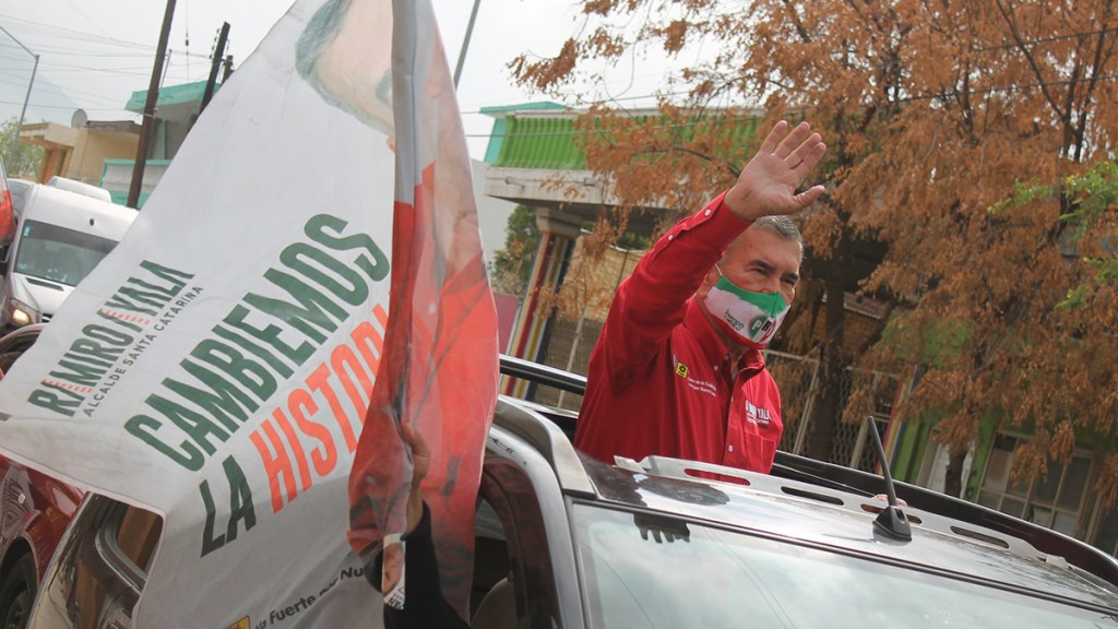 Murió Ramiro Ayala, candidato del PRI a alcaldía en Nuevo León - Ramiro Ayala, candidato del PRI a la alcaldía Santa Catarina. Foto de Facebook