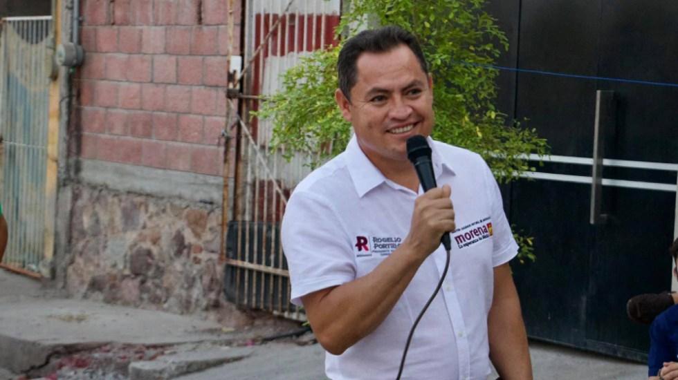 La DEA busca a candidato de Morena en Michoacán - Rogelio Portillo Jaramillo candidato Huetamo Morena