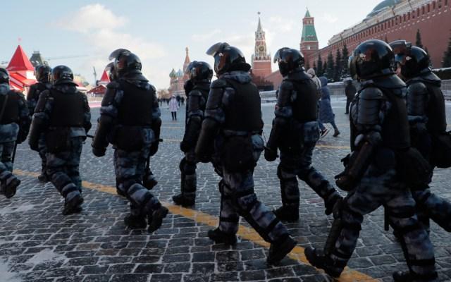 Más de mil detenidos en Rusia en las marchas en apoyo a Navalni - Rusia Moscú protestas Alexei Navalni