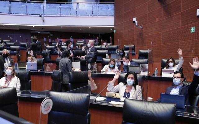 Comisiones del Senado aprueban dictamen final de la Ley de Revocación de Mandato - Ley Revocación de Mandato Senado de la República sesión 290420211