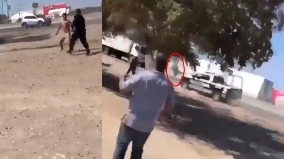 Hombre muere atropellado mientras intentaba huir de la policía en Guasave, Sinaloa - Un hombre de 23 años murió atropellado mientras intentaba escapar de ser detenido por policías en la comunidad de El Tajito, de Guasave. Capturas de pantalla