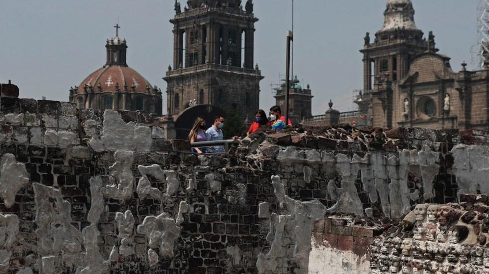 Reabre la zona arqueológica del Templo Mayor - Reabre la zona arqueológica del Templo Mayor. Foto de EFE