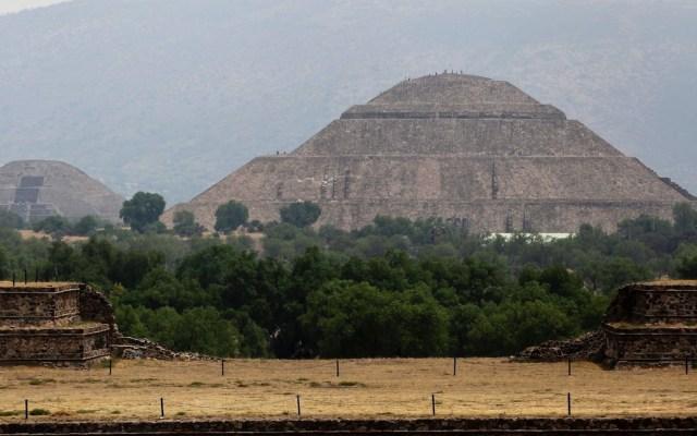 Denuncian en Teotihuacán construcción irregular cerca de monumentos arqueológicos - Teotihuacán