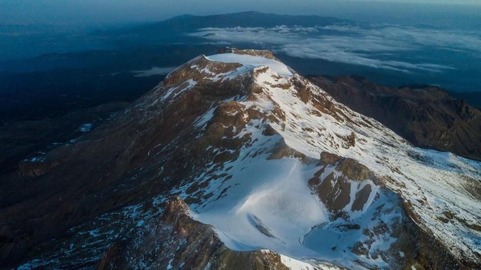 Declaran extinto el glaciar Ayoloco ubicado en el volcán Iztaccíhuatl - Volcán Iztaccíhuatl. Foto de UNAM