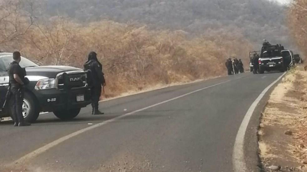 Nuevos daños en carretera Aguililla-El Aguaje y bloqueos en Chinicuila - Aguililla Michoacán ataques bloqueos daños carretera