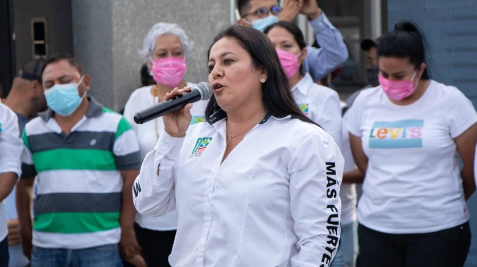 Retienen a la candidata a la alcaldía de Cintalapa, Chiapas - Alejandra Aranda Cintalapa Chiapas